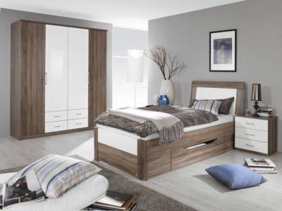 Die besten 25+ Bett 100x200 Ideen auf Pinterest Bett-Designs - schlafzimmer komplett massiv