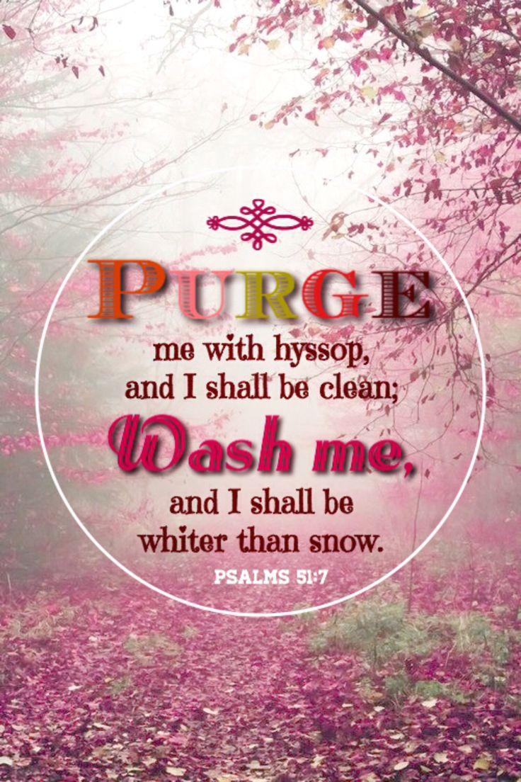 @amazingfacts  Psalm 51:7 Search me, Oh God... http://www.sdahymnal.net/