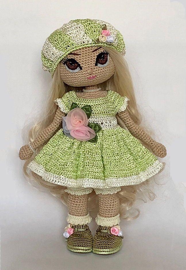 Crochet doll PATTERN | amigurumi pattern | frame doll | crochet ... | 940x648