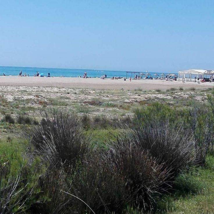 Precioso día de playa en Castelldefels #playa #playacastelldefels #platja #platjadecastelldefels #diadeplaya #diadeplatja #diasoleado #sol