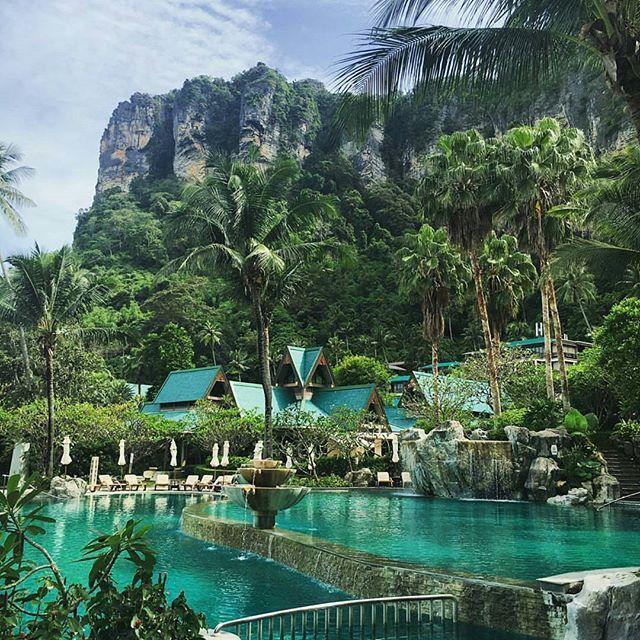 It looks like Paradise! Centara Grand Beach Resort & Villas Krabi, Thailand. Photo by @velascarlos #followmefaraway
