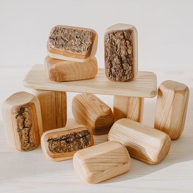 Nature Toys Blocks 🍂