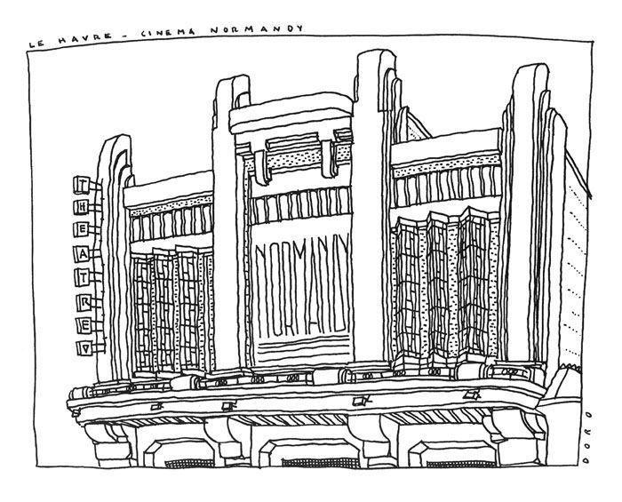 74 best Modern architecture illustrations images on Pinterest ...