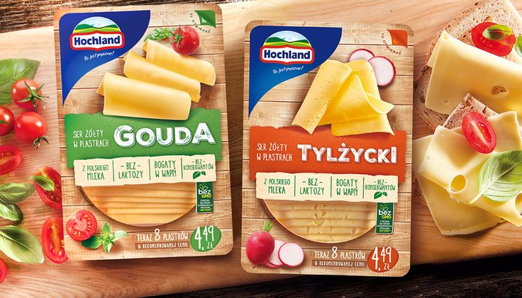 Say cheese... And take a look at our design for the line of natural cheese produced by Hochland Polska.  #cheese #packagingdesign #packaging #design #branding #branddesign #brand #FMCG #food #culinaryphotography
