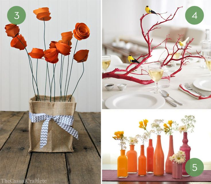 Everyday centerpieces for