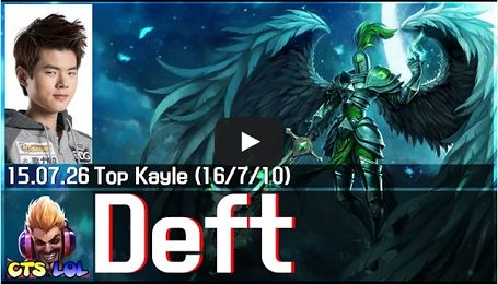 [Thách đấu Hàn] EDG Deft quạt cháy team địch với Kayle đường trên Ở phiên bản mới nhất thì Kayle là 1 trong những tướng pháp sư được đánh giá rất cao.