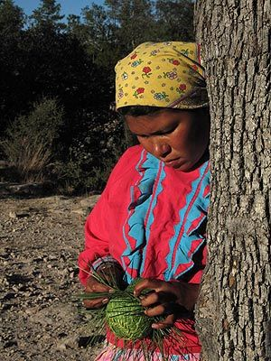 Indígenas tarahumaras de México