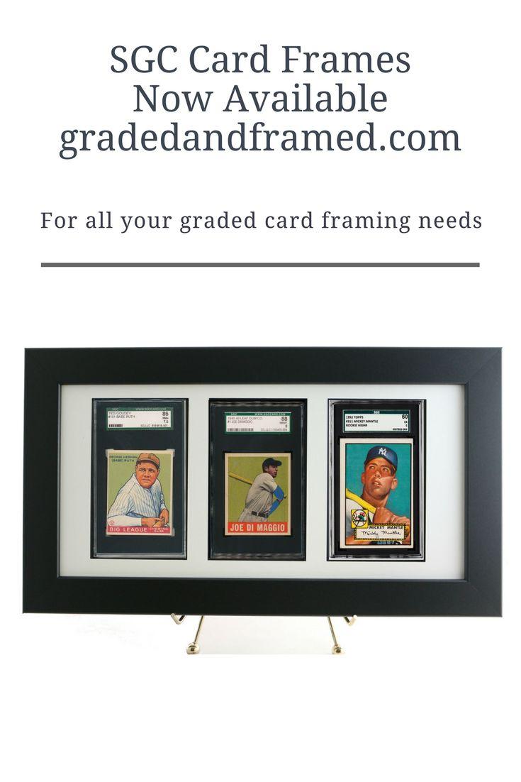 10 best graded sports card frames images on Pinterest