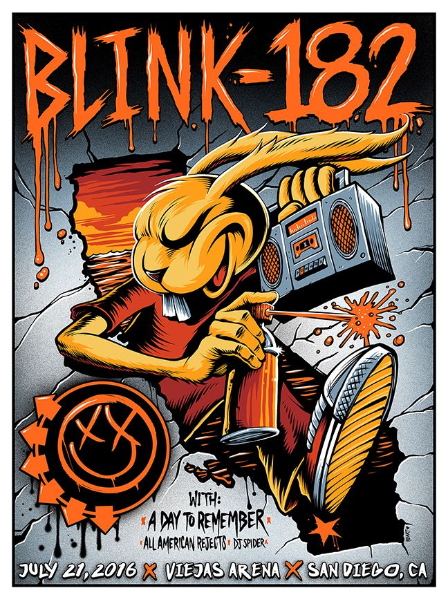 Blink-182 - Brandon Heart - 2016  ----