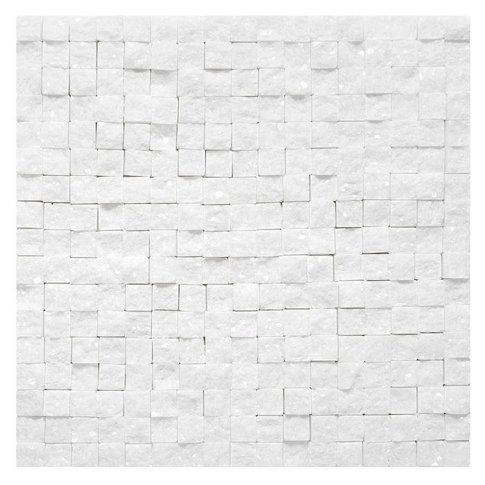Mozaika kamienna Zen - Dunin - Crystal White Rock 18