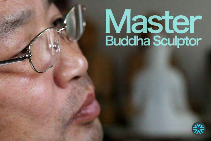 South Korea's Master Sculptor of Buddha Statues