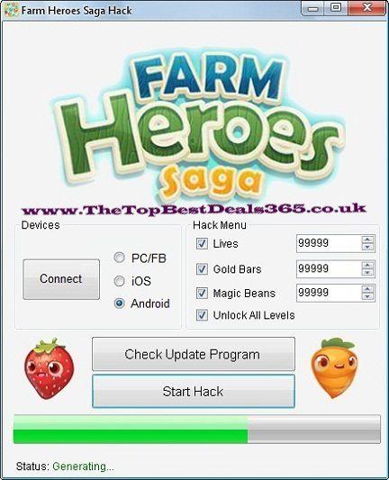 Farm heroes saga hack tool July 2014