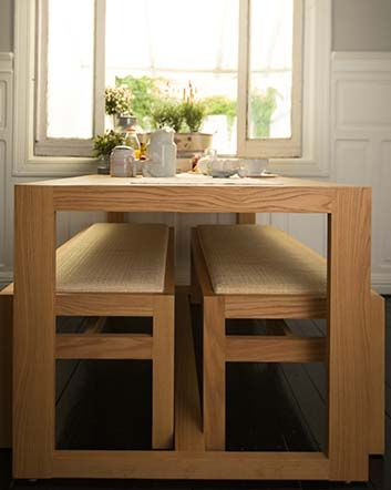 Las 25 mejores ideas sobre mesas de comedor de madera en - Mesas comedor para espacios pequenos ...
