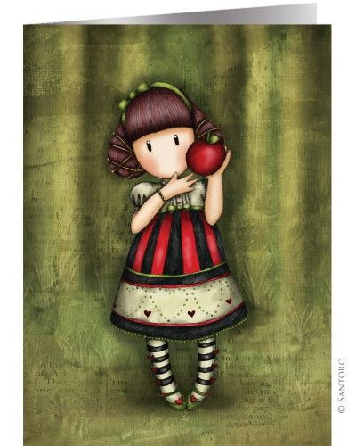 Gorjuss Cards - Estimado de Apple