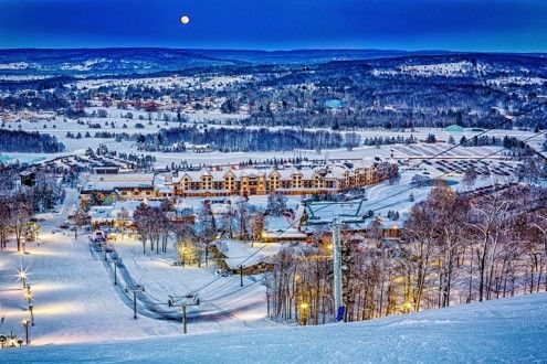 Family Friendly Ski Resorts in Michigan - Boyne Mountain - Traveling Mom