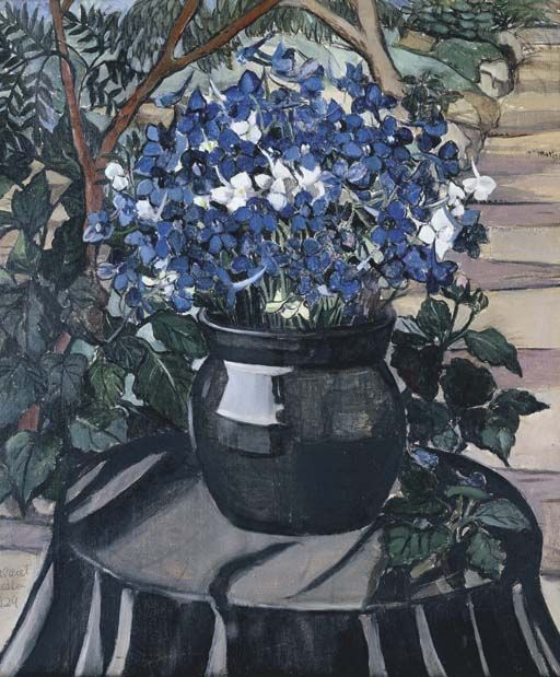 Margaret Preston, Larkspur
