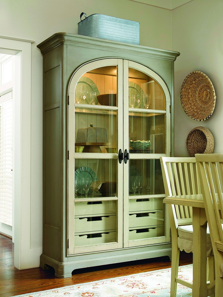 universal furniture paulau0027s best dishes pantry from the paula deen river house collection showroom