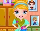 Giochi Vestito dal bambino Barbie gratuita di Regina