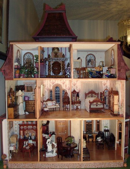 Beacon Hill Dollhouse Interior Page 1Best 25  Dollhouse interiors ideas on Pinterest   Dollhouse ideas  . Dolls House Interiors. Home Design Ideas