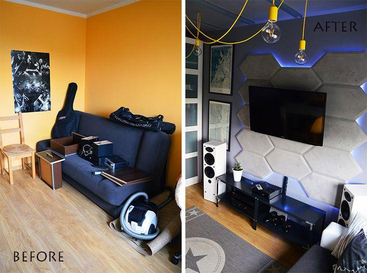 Pokój Olafa - before&after | Zoyka HOME blog wnętrzarski