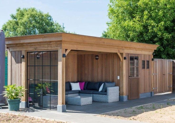 Tuin berging lounge corner 1 - Woodarts