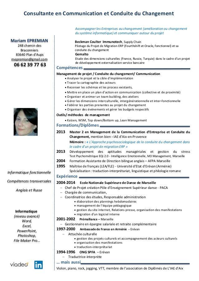 Exemple Cv Prestataire Ssii Modele Cv Telecharger Cv Exemple Cv