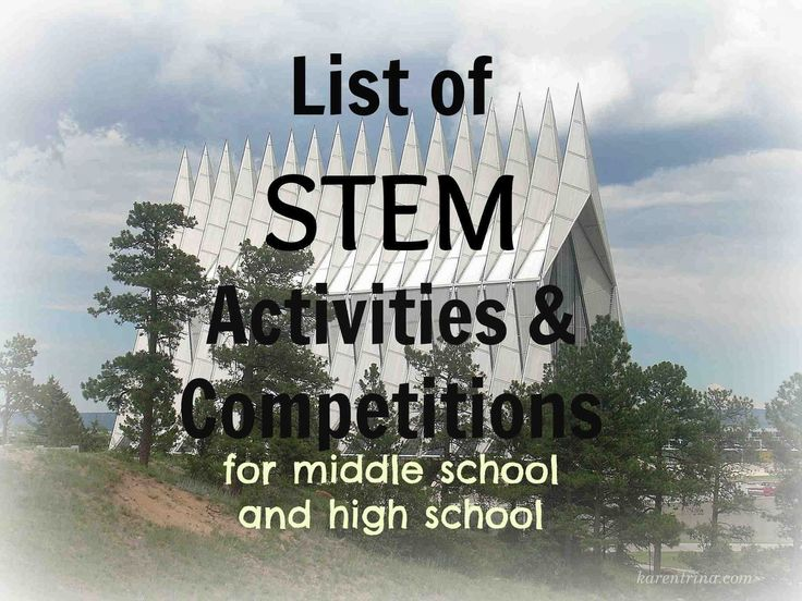 homeschool high school, STEM activities