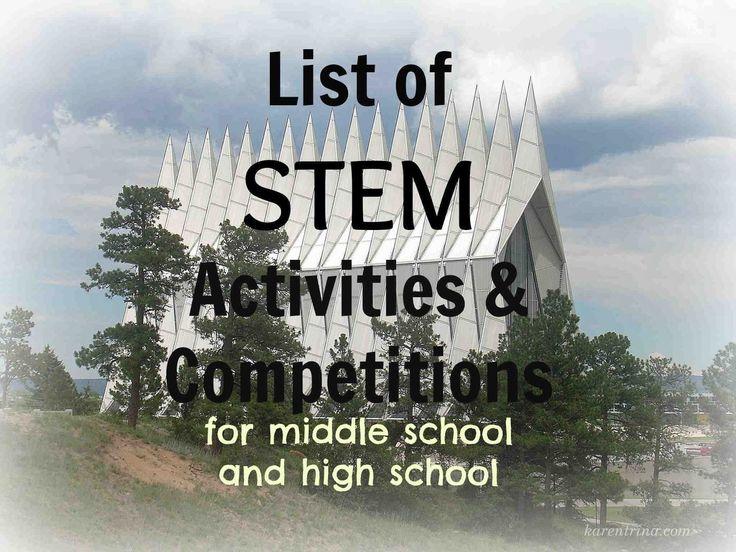 homeschool high school, STEM activities