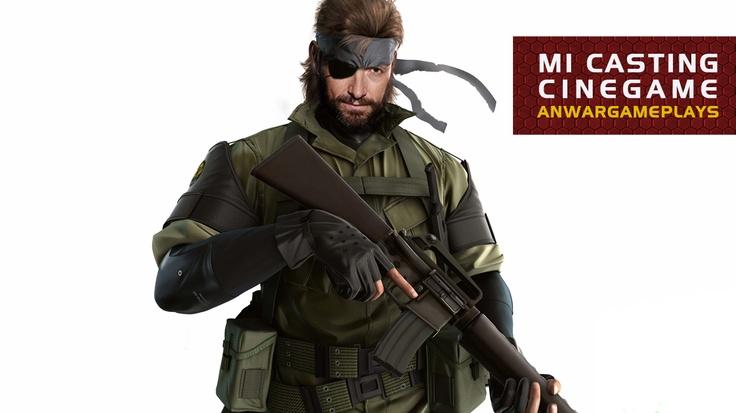 Hugh Jackman como Big Boss (Metal Gear Solid)
