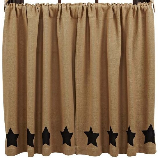burlap curtains | home country style curtains tier curtains 36 inch tier curtains