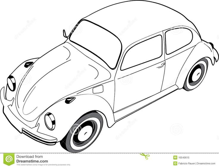 818 best vw beetle drawings images on pinterest