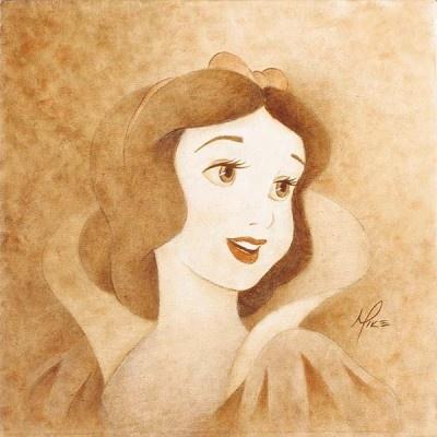 Snow WhiteWhite Portraits, Favorite Princesses, Disney Fine, Disney Princesses, Mike Kupka, Fine Art, Disney Art, Fairies Tales, Snow White