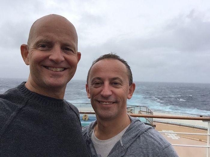 Transatlantic crossing seas video on Cunard Queen Mary 2 http://www.tipsfortravellers.com/qm2-winter-crossing-rough-seas-video/