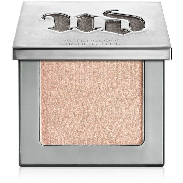 Urban Decay Afterglow 8-hour Powder Highlighter ($26) ❤ liked on Polyvore featuring beauty products, makeup, face makeup, face powder, beauty, cosmetics, make, sin and urban decay