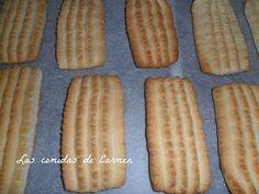 Éstas galletas que os presento hoy son las que ha hecho mi madre toda la vida y que ya hacía tanto tiempo que no las probaba. Ella acostum...