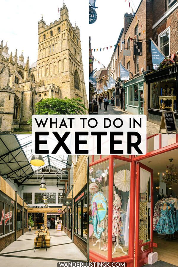 60caaa7def A guide to shopping in Exeter and Harry Potter related things in Exeter,  J.K. Rowling's university home! #devon #UK #travel #exeter