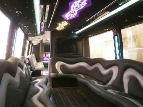 1998 White Vanhool M11 60 passenger newly converted party bus for sale
