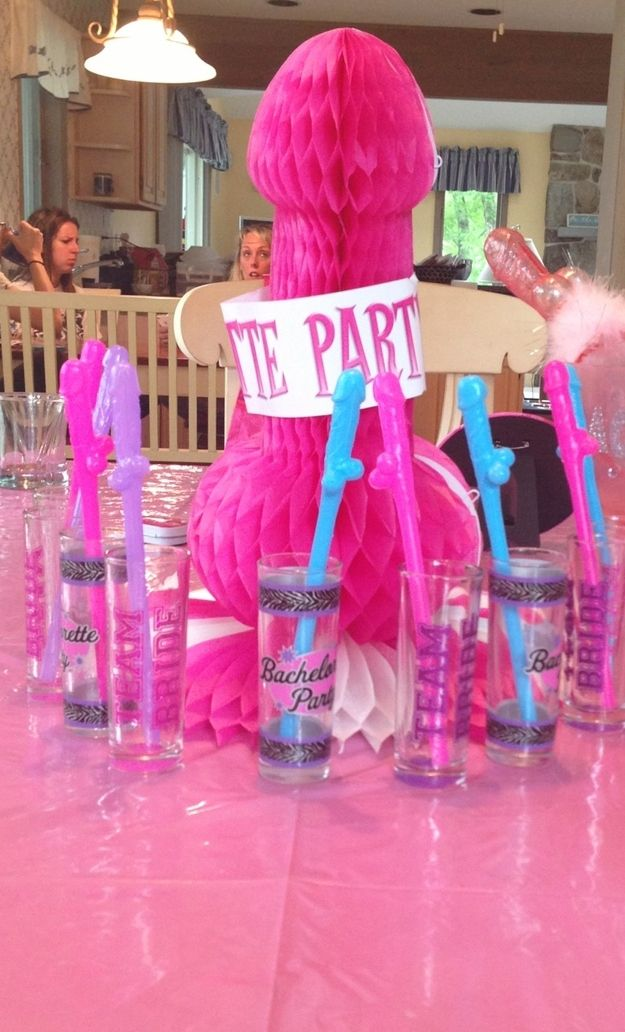 And host a party where phallic objects are encouraged. | The 28 Most Underrated Parts Of Being A Bridesmaid