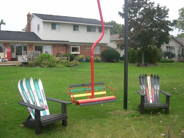 My Cool New Chairlift Swing & Ski Chairs Chairlift
