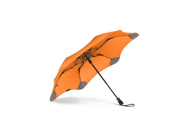It's the strongest umbrella around, can be popped open with one hand, and is small enough to fit in your handbag. Get your Orange BLUNT XS_Metro umbrella at www.GumbootBoutique.com