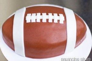 Football Cake tutorial