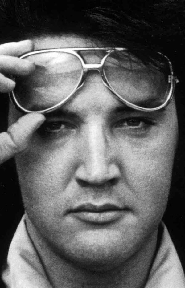 Daily Elvis.  You're Welcome. Probably circa 1977 he looked like this when I saw him the yr. he died
