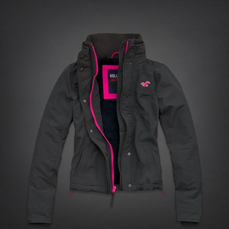 Bettys Hollister All-weather Jacket   Bettys Outerwear   HollisterCo.com   Riley Projects ...