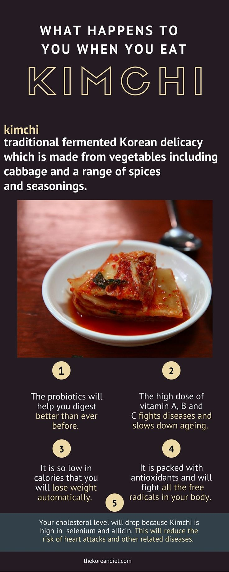 This is what happens to you when you eat Kimchi. http://thekoreandiet.com/kimchi-diet/ #Korean #Food