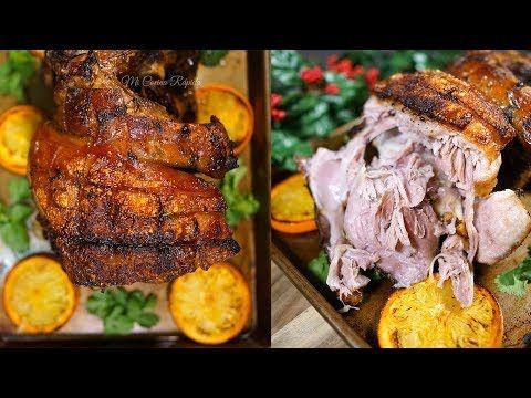 Paleta de Cerdo con Cítricos - Receta en Olla de Lento Cocimiento - Mi Cocina Rápida - YouTube