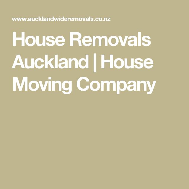 House Removals Auckland | House Moving Company