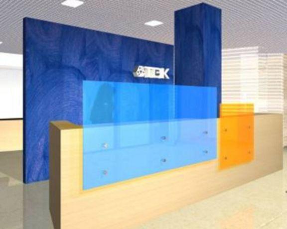 Workplace Modern Office Interior Reception design