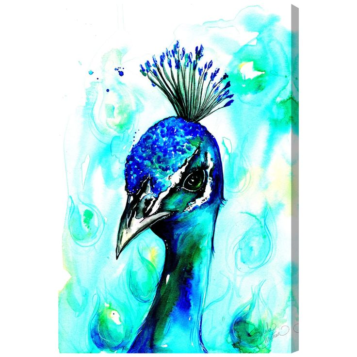Oliver Gal 'Bold and Beautiful by Talula Christian' Canvas Art