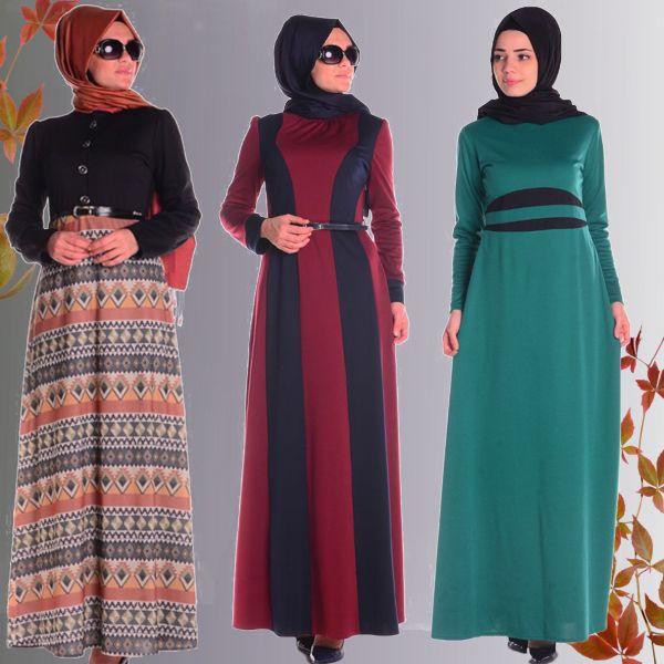 Farklı Tasarım ve Renklerle Tesettür Elbise Modelleri - #sefamerve #tesetturgiyim #tesettur #hijab #tesettür