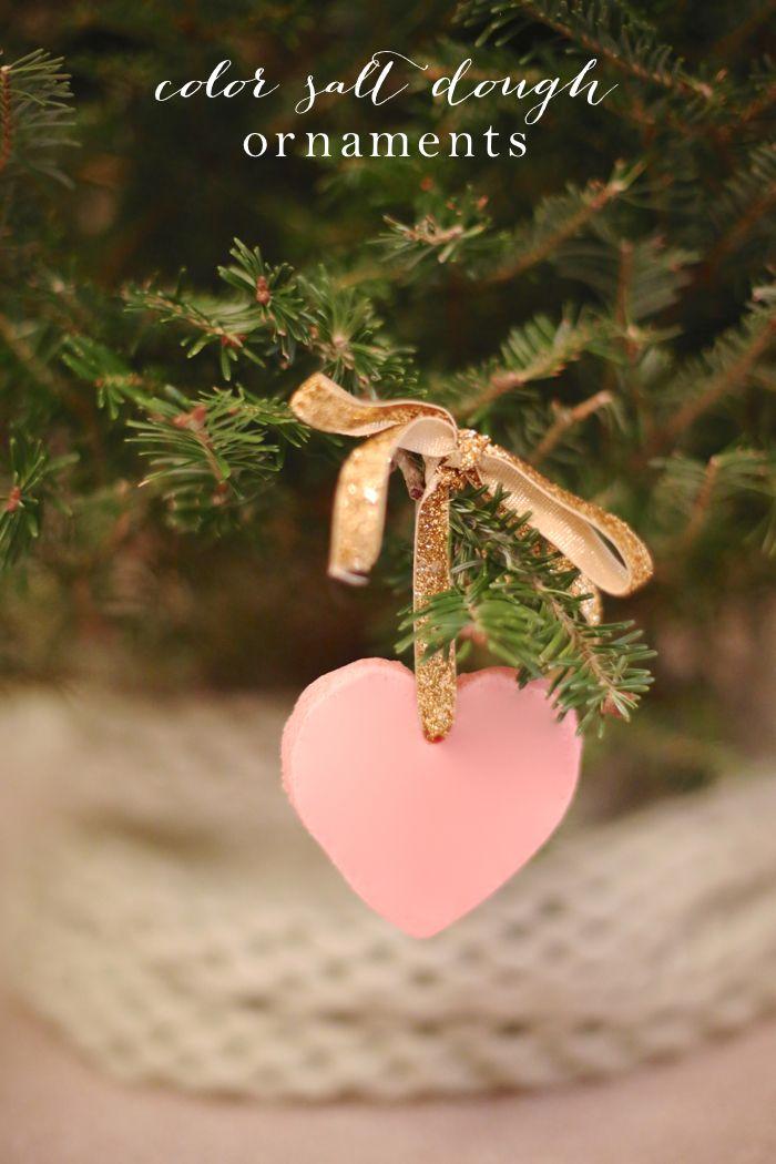 Color salt dough ornaments recipe beautiful diy for Beautiful diy christmas ornaments